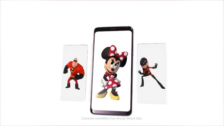 Samsung and Disney Reveal 6 'Incredible' New AR Emojis