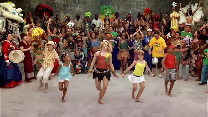 Shakira - Waka Waka (This Time for Africa) (The Official 2010 FIFA World Cup™ So