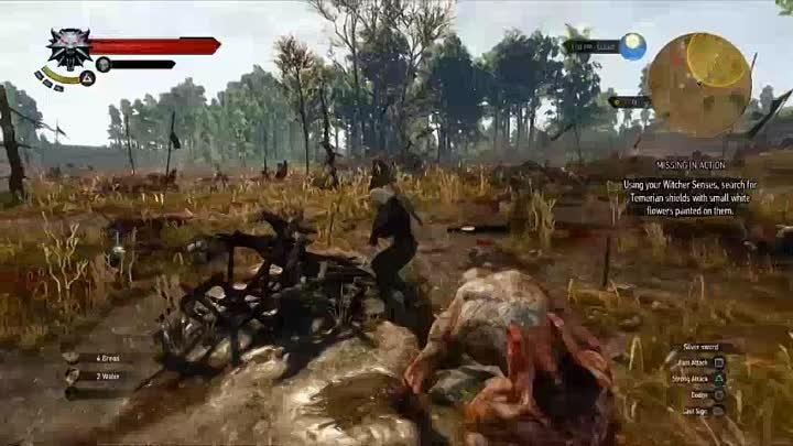 The Witcher 3 Walkthrough Part 3 Quest MISSING IN ACTION Let's Play Playthrough [HD] PS4 XBOX PC