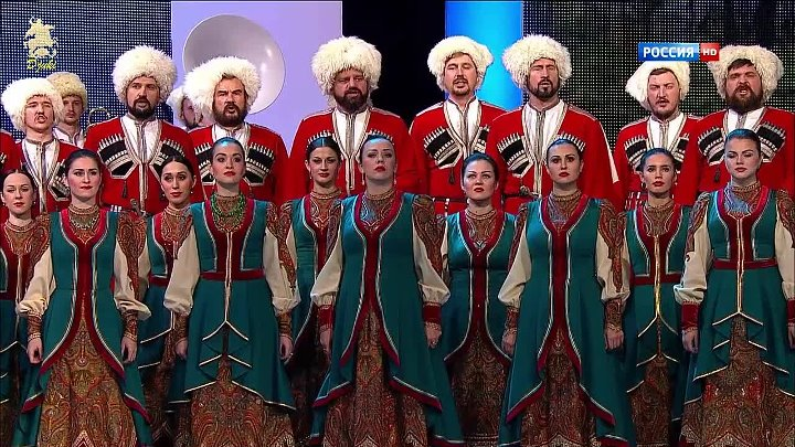 Горькая моя Родина (Bitter is my homeland) - Kuban Cossack Choir (2014)