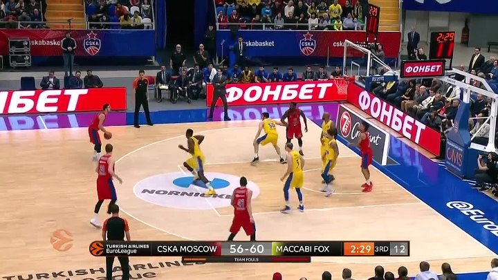 CSKA Moscow - Maccabi FOX Tel Aviv Highlights _ Turkish Airlines EuroLeague RS R