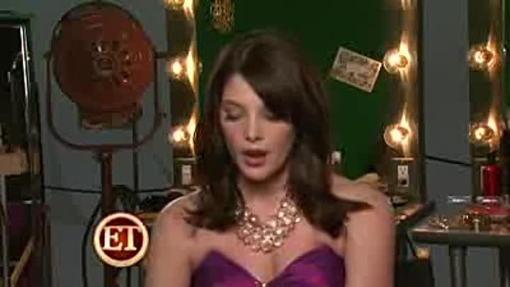Behind the scenes of Ashley Greene's photo shoot for Teen Prom magazine