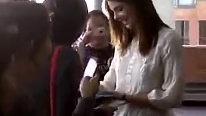 Ashley Greene meets with fans in Bogota, Colombia (Oct. 27th)