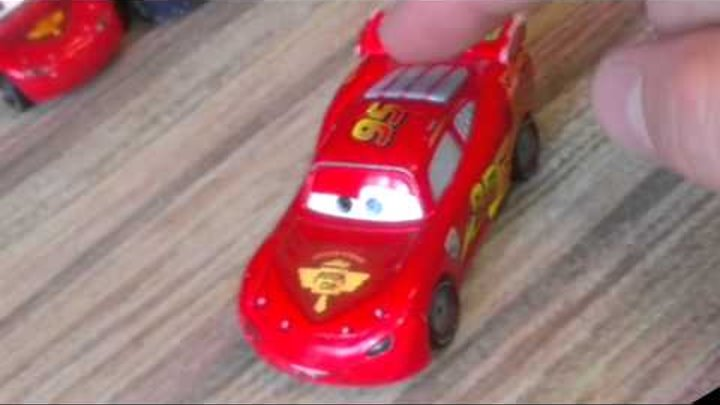 UFO MCQUEEN 2 lightining cars toys video new тачки 2