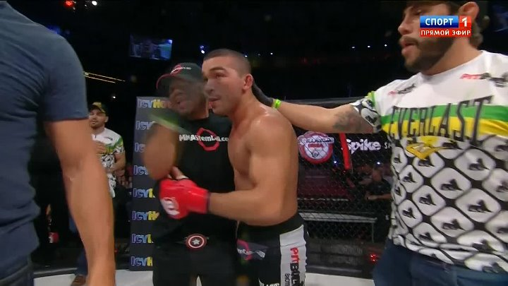 Патрисио «Питбуль» Фрейре - Даниэль Вайхель (19.06.2015) Bellator 138: Kimbo vs. Shamrock