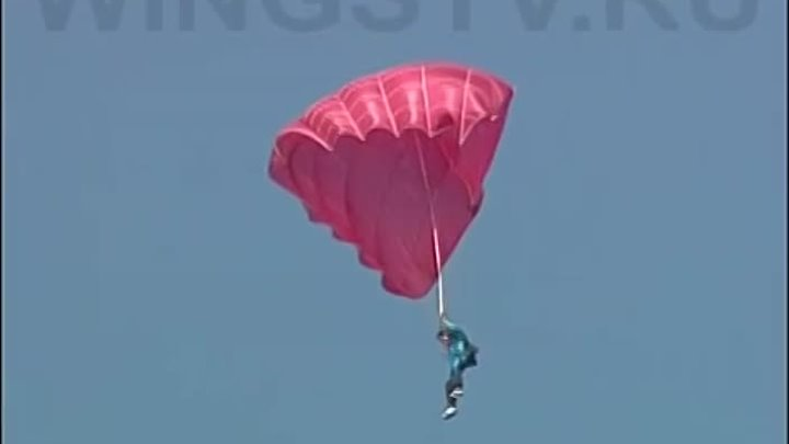 Инцидент с парашютистами / Accident with parachutists