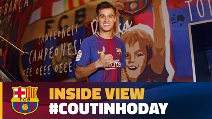 [BEHIND THE SCENES] 24 hours with Coutinho #CoutinhoDay