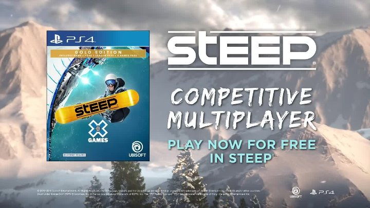 Steep - Multiplayer Trailer ¦ PS4