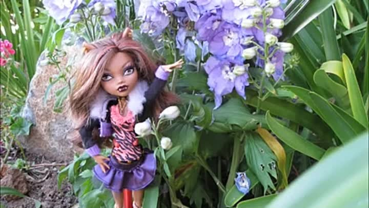 monster high stop motion and photoshoot