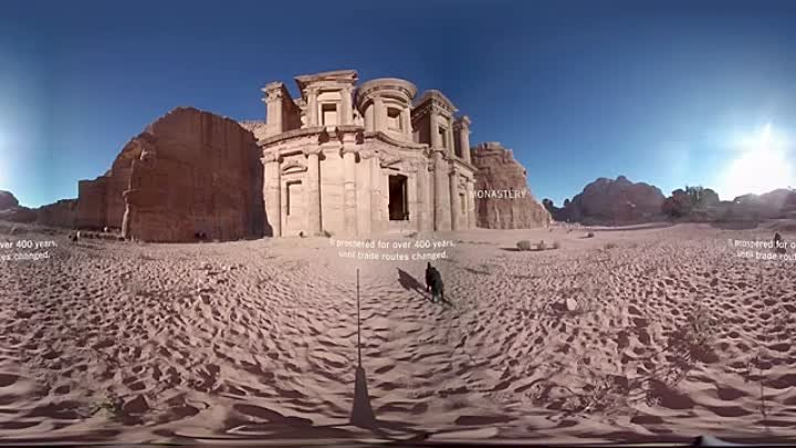 Seven Wonders of the World_ Petra _ 360 Video