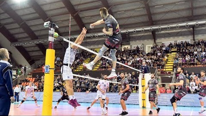 Ivan Zaytsev | 3rd meter spikes | Monster blocks | Volleyball Champions League