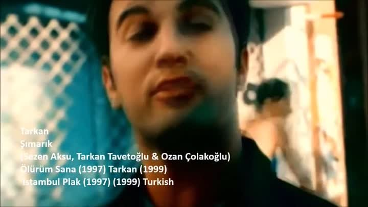 Tarkan - Şımarık - Simarik - Kiss Kiss (Original Video HD)