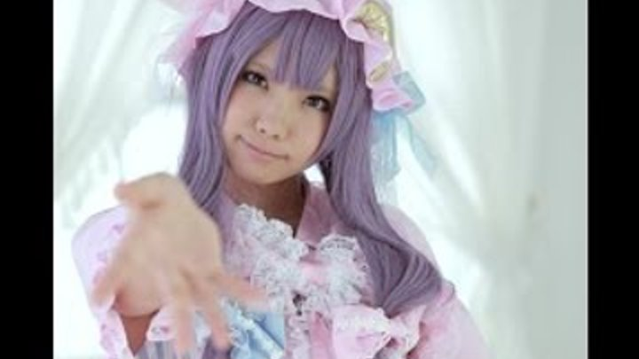 Patchouli Knowledge From Touhou Cosplay By Enako