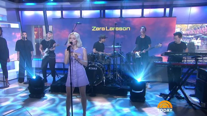 Zara Larsson - Ruin My Life (Live on The Today Show)