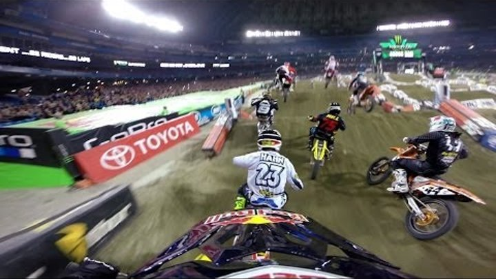 GoPro: James Stewart 14th to 1st - 2014 Monster Energy Supercross Toronto