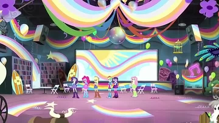 HDMulti.net MLP Equestria Girls - Rainbow Rocks 'Shake your Tail!' EXCLUSIVE Short