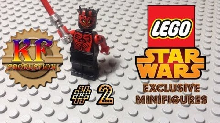 LEGO Star Wars: Exclusive Minifigures #2 - Darth Maul [Animated Building Review]
