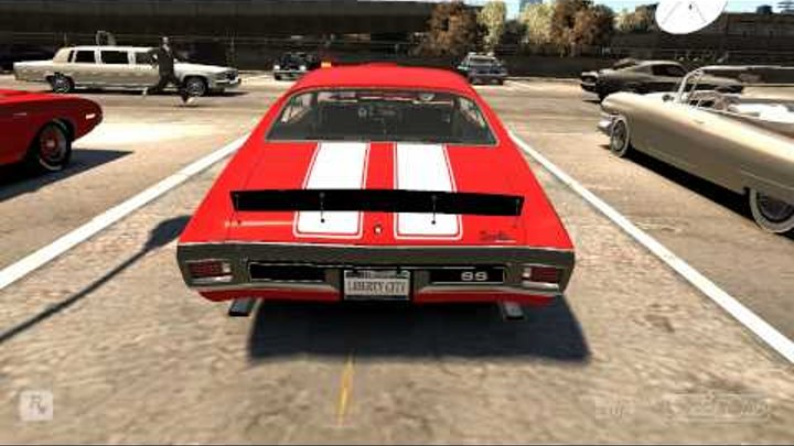 GTA IV : American gangster's car
