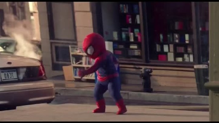 "The Amazing Spider-Man Evian ""Baby & Me 2"" Full Advertisement"