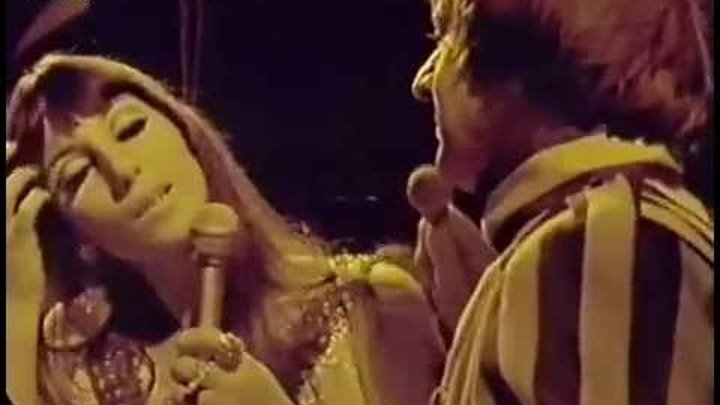 Sonny and Cher Little Man 1966 - live on Beat club