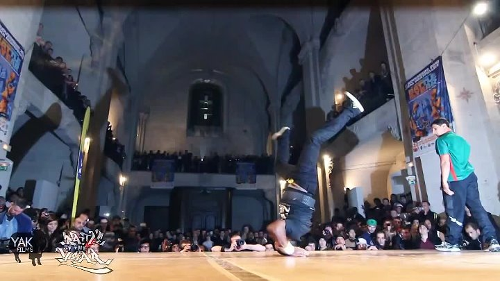 BATTLE OF THE YEAR 2010 BBOY 1on1 BATTLE - YAK FILMS + KRADDY + BOTY