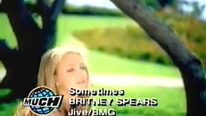 BRITNEY SPEARS - Sometimes-Video-MuchMusic-Vision