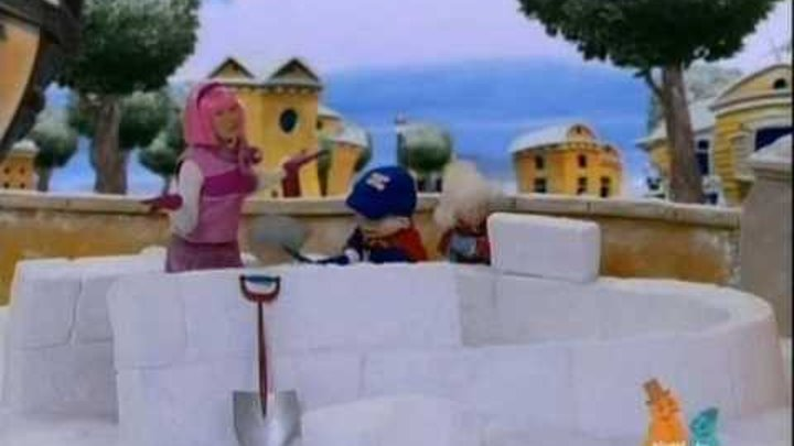 Лентяево / LazyTown - Снег, первый снег / Snow, give me snow (Russian)