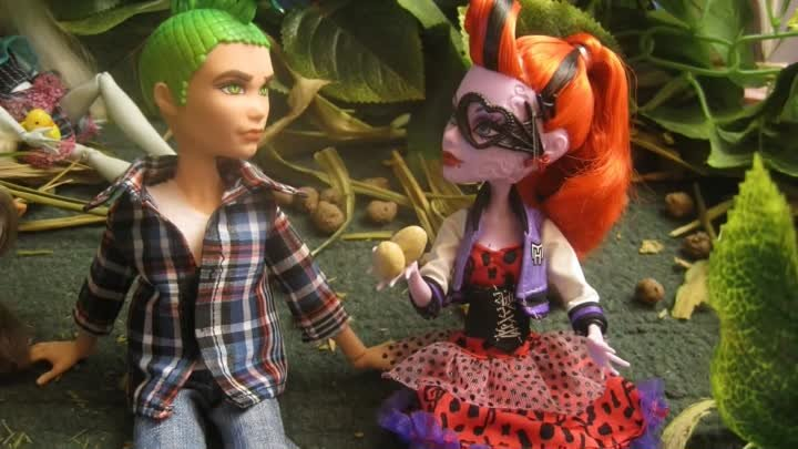 Stop motion monster high# Кража века 6.