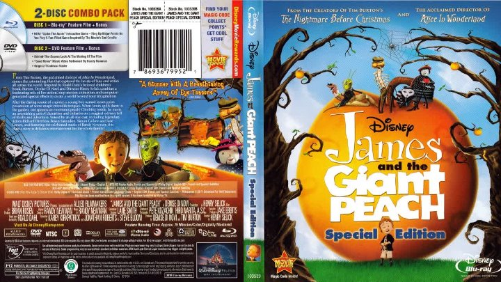 James and the Giant Peach (1996) 720p BDRip English