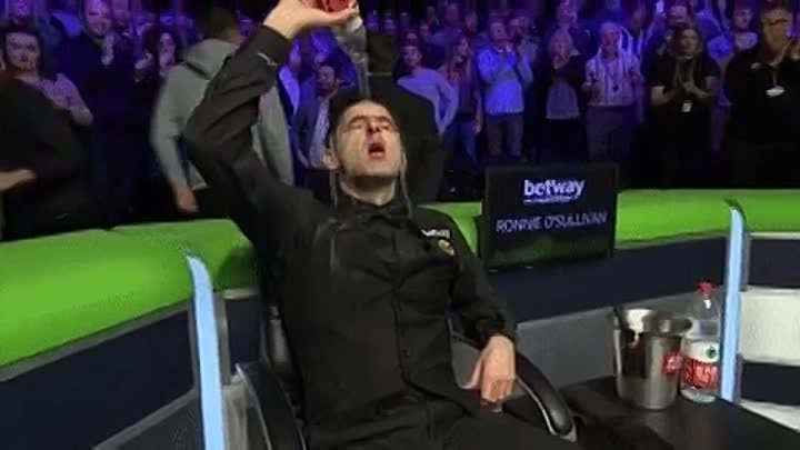 Enjoy that one, Ronnie - - baizeofglory @betway