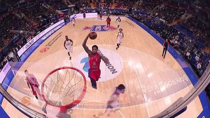 CSKA Moscow - Anadolu Efes Istanbul Highlights _ Turkish Airlines EuroLeague RS