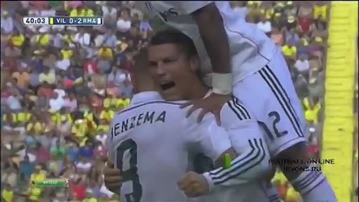 Вильярреал - Реал Мадрид 0-2 Jevons 720HD 27.09.2014 Villarreal - Real Madrid 0 2 0-2