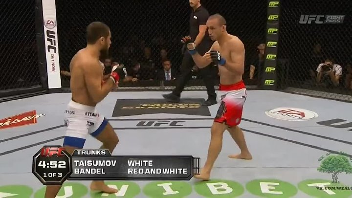 Майрбек Тайсумов vs Марчин Бендел на UFC Fight Night 53