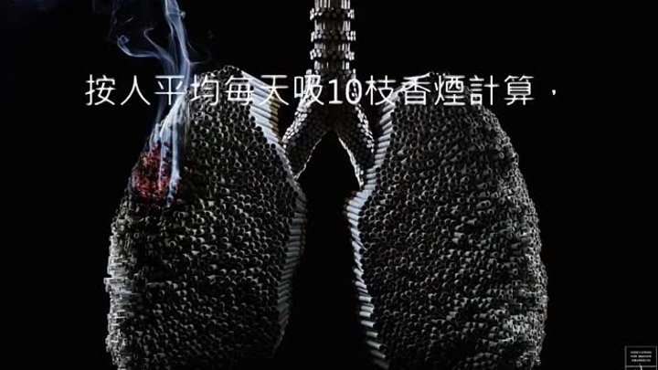 HD仁濟醫院董之英紀念中學-吸煙豬肺 Smoking pig lungs show what smoking REALLY does