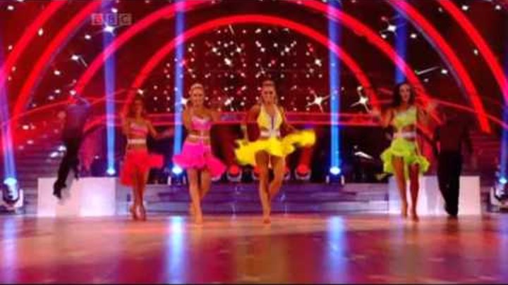 Professional Samba - Strictly Come Dancing 2011