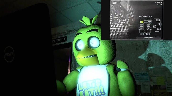 [SFM] Chica Reacts To- Five Nights at Freddy's 2 Trailer