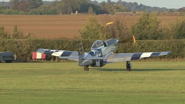 P-51D Mustang Awesome Sound