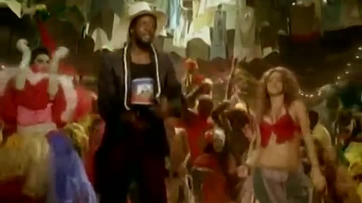 Shakira - Hips Don't Lie feat. Wyclef Jean (Official Video)_@
