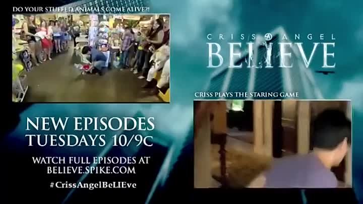 Criss Angel BeLIEve Real Life Animal Crackers (On Spike)