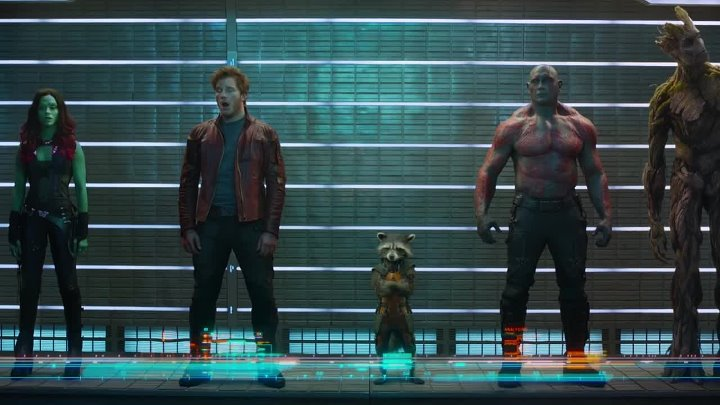 Стражи Галактики / Guardians of the Galaxy (2014) [Трейлер]