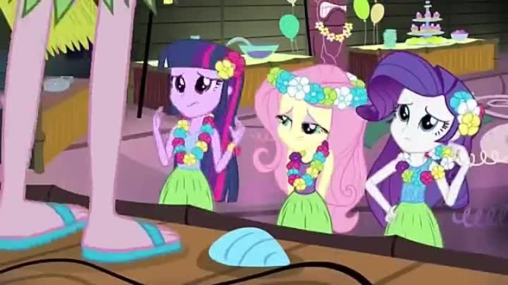 [RUS VO] MLP- Equestria Girls 2 - Rainbow Rocks - Shake your tail (Русская озвучка GALA Voices)