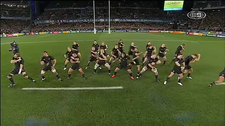 Haka - New Zealand v France - Rugby World Cup Final 2011 (HD) Great Quality