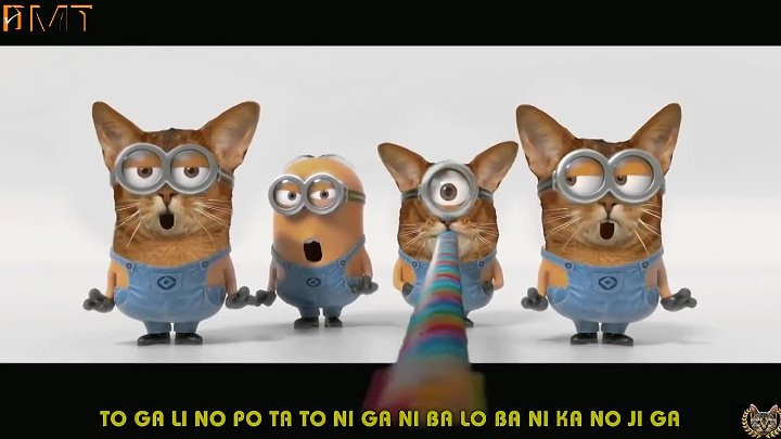 [Minions Banana Song (Trailer Cats)