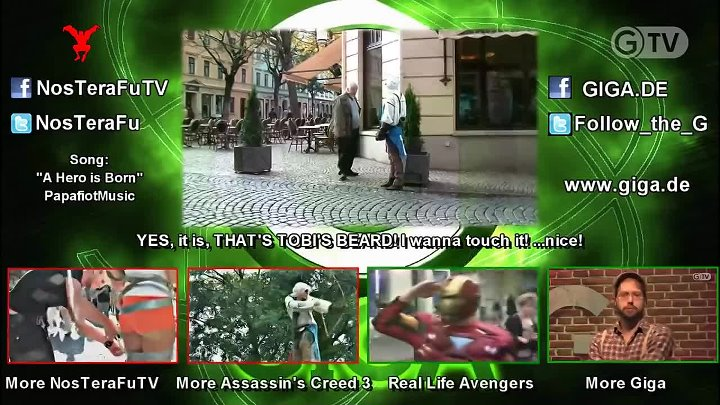 Assassin-u0027s Creed 3 in Real Life - Public Trolling