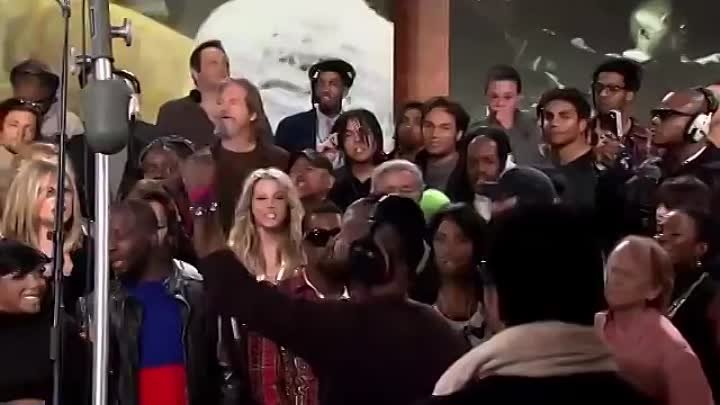 We Are The World new version Justin Biber, Lil wayne, Akon, T-Pain, Celin Dione, Enrique Eglesias and many stars 25 For Haiti - Official Video.mp4