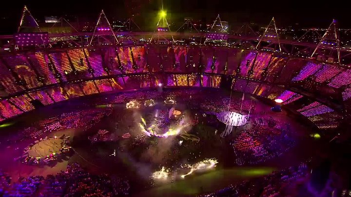 Coldplay - Viva La Vida (London Olympics 2012)