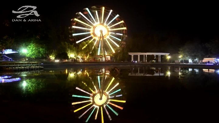 Fergana Park at Night Ферганская правда http://ok.ru/fergana7
