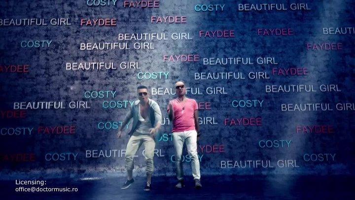 Costi & Faydee - Beautiful Girl (Urban Version) (HD 1080p)