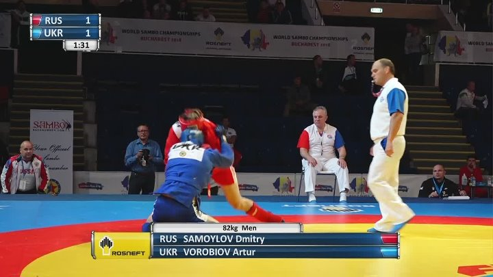 LIVE. World SAMBO Championships 2018. Day 2. Mat 3