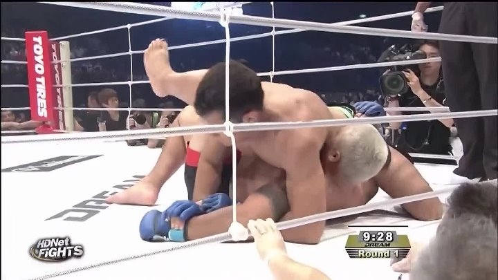 Гегард Мусаси - Марк Хант (26.05.2009) DREAM 9 Gegard Mousasi vs. Mark Hunt HDTVRip 720p